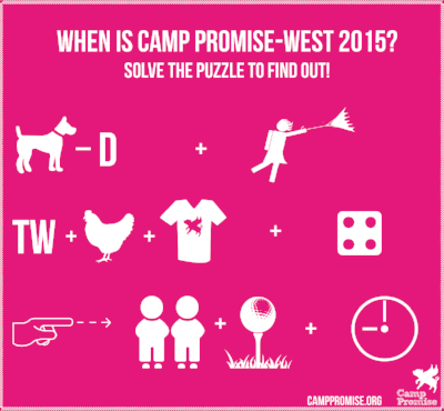Camp Promise-West dates, 2015