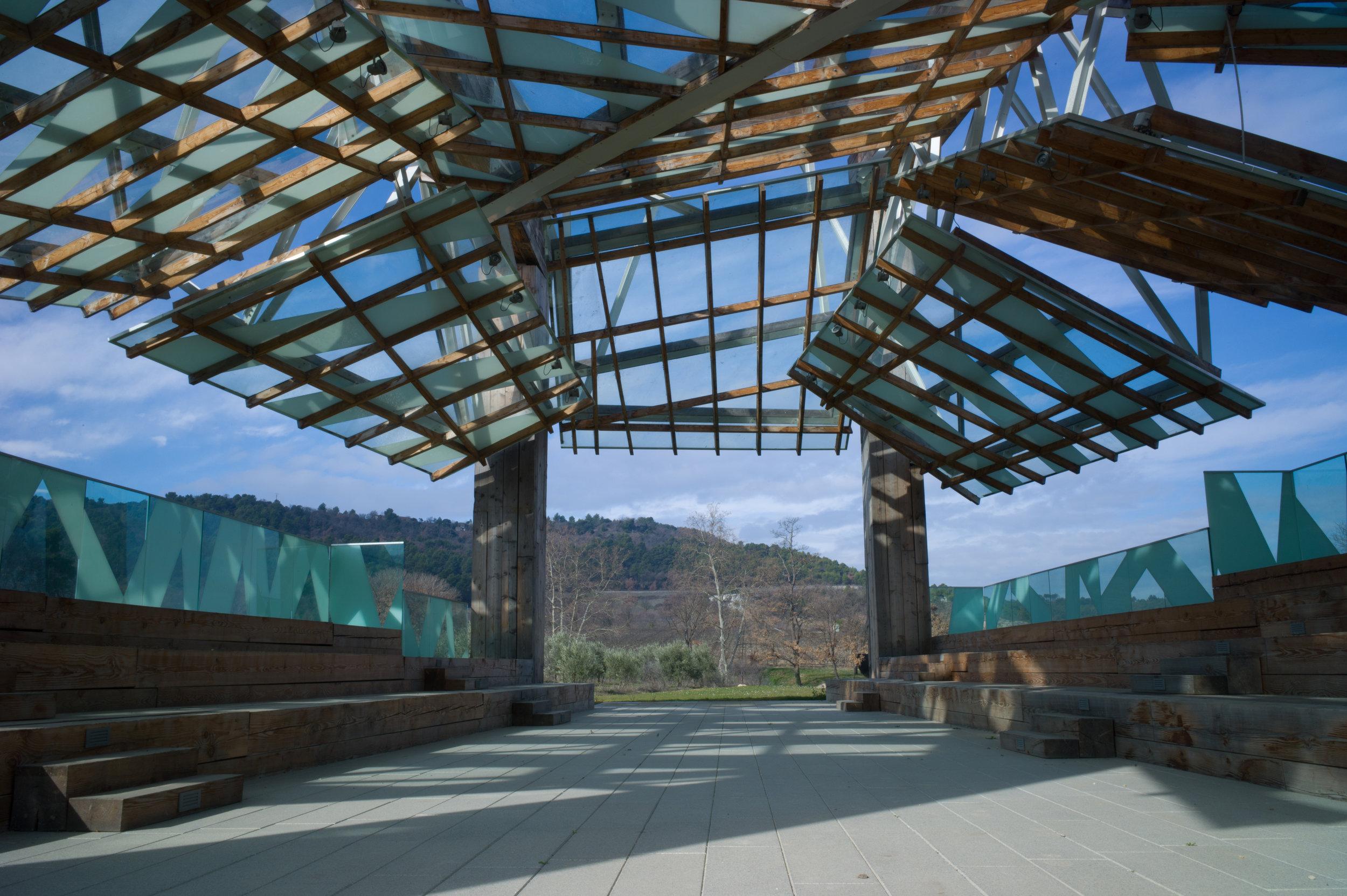 Frank O. Gehry, Pavillon de Musique (Intérieur), 2008 © Gehry Partners et Château La Coste 2015. Photograph © Andrew Pattman 2016.jpg