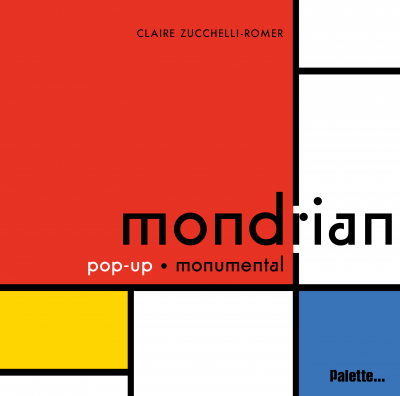 livre pop up MOndrian