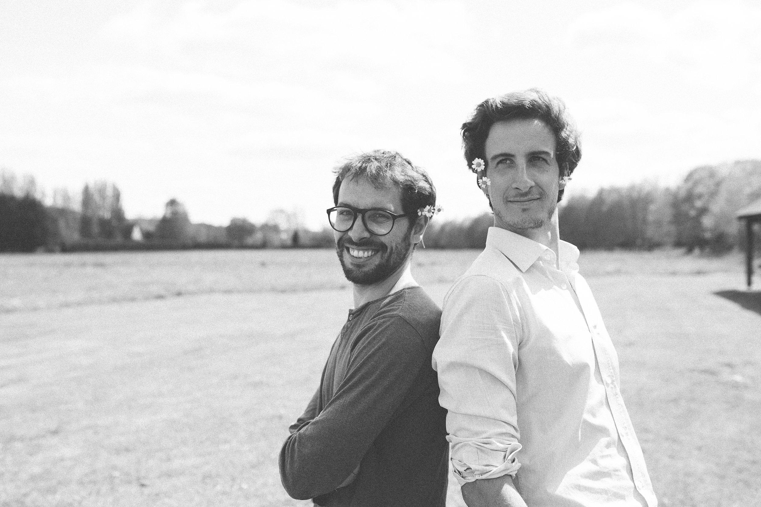 Benjamin et Ludovic : les deux fondateurs de Monsieur Marguerite