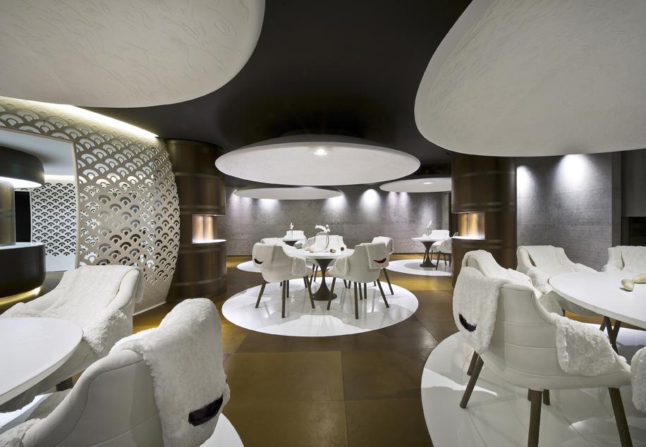 Le 1947 - Hôtel Cheval Blanc Courchevel - Seul nouveau 3 * au guide Michelin 2017