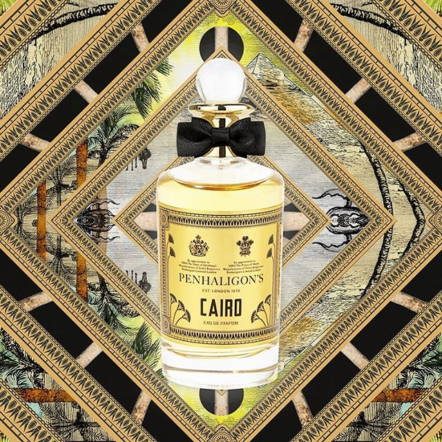 [new article] Avec son dernier Opus « Cairo », le très britannique parfumeur Penhaligon's prend la route vers la capitale égyptienne. Pour en savoir plus, allez voir notre article sur Snobismes.com (➡️lien dans la bio) ✨✨✨✨✨✨✨✨✨#parfum #perfume #penhaligons #beauty #frenchmagazine #snobismes