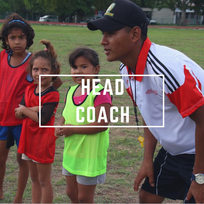 Girls' Football, Girls United FA, Girls United, Head Coach