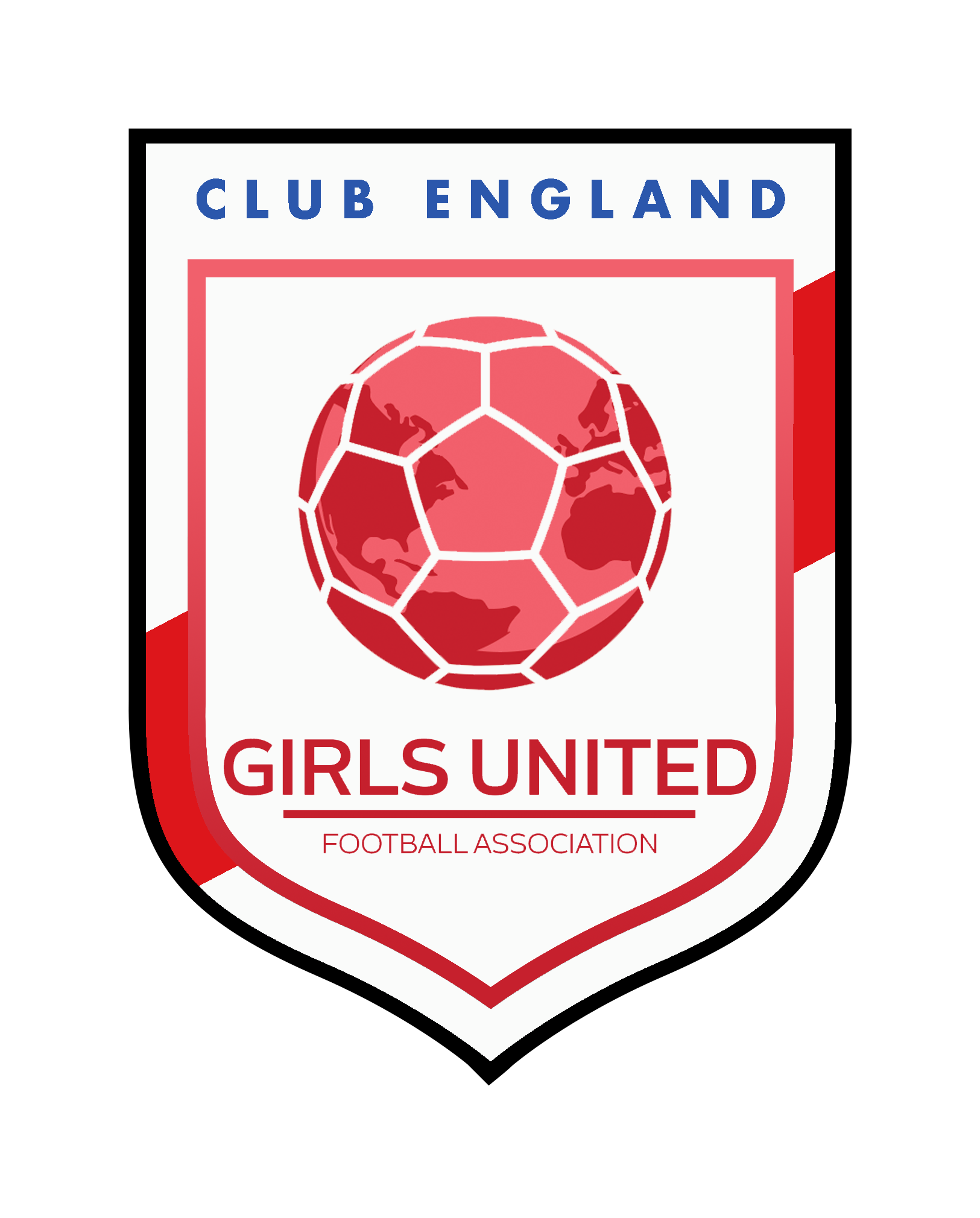 Girls United Club England Badge