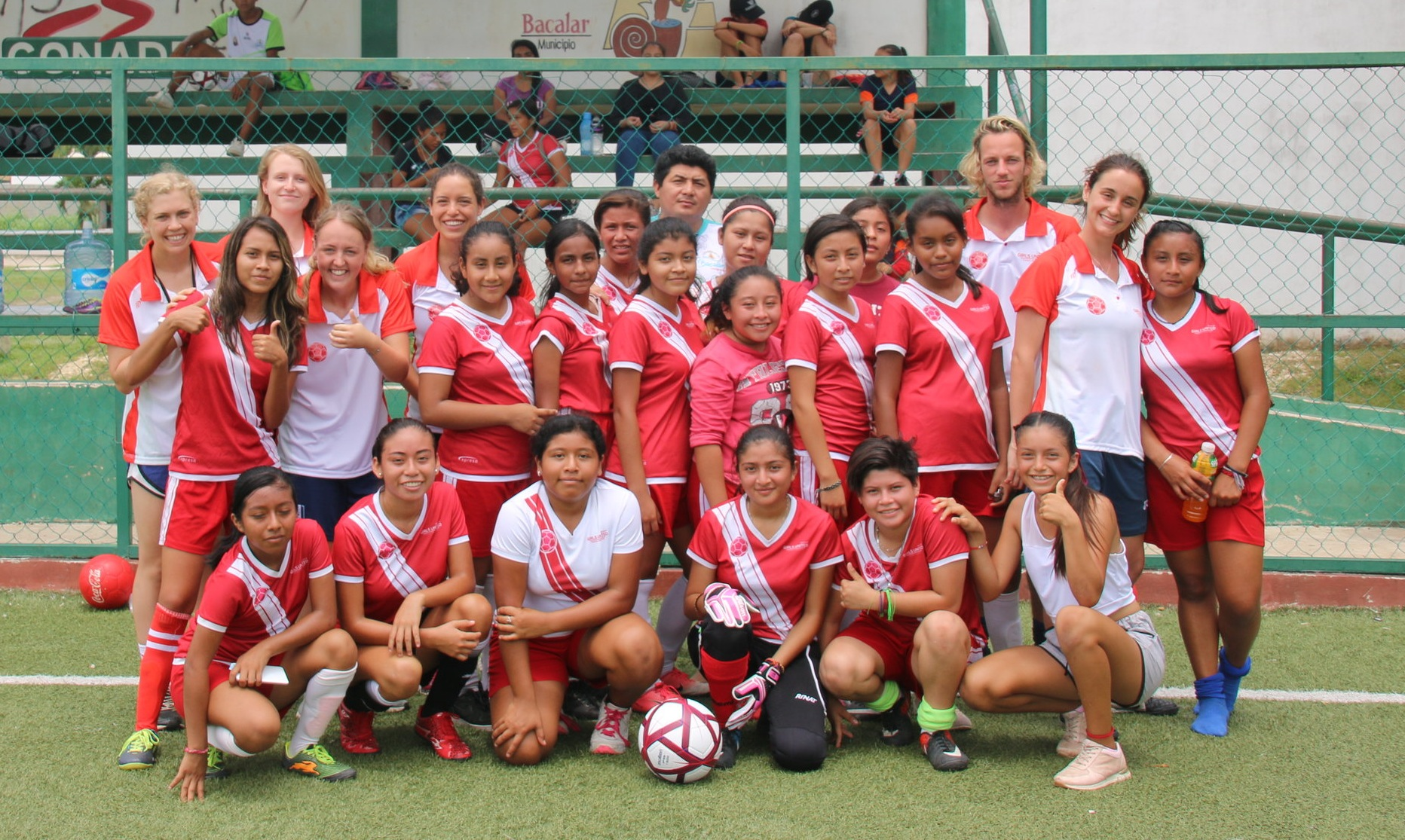 Girls United Mexico Team