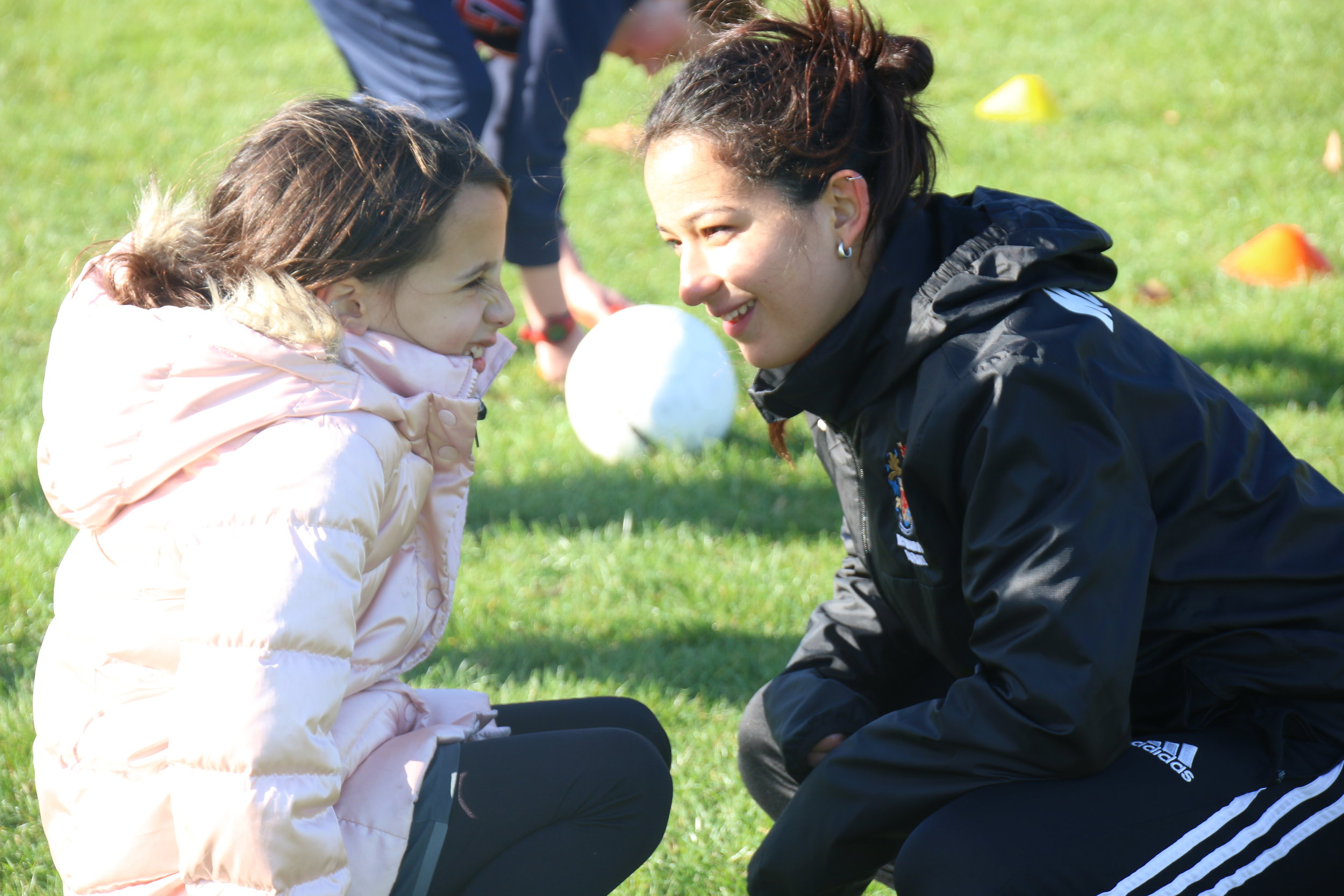 Coaches from a variety of backgrounds, with varying levels of experience help our players score goals across continents