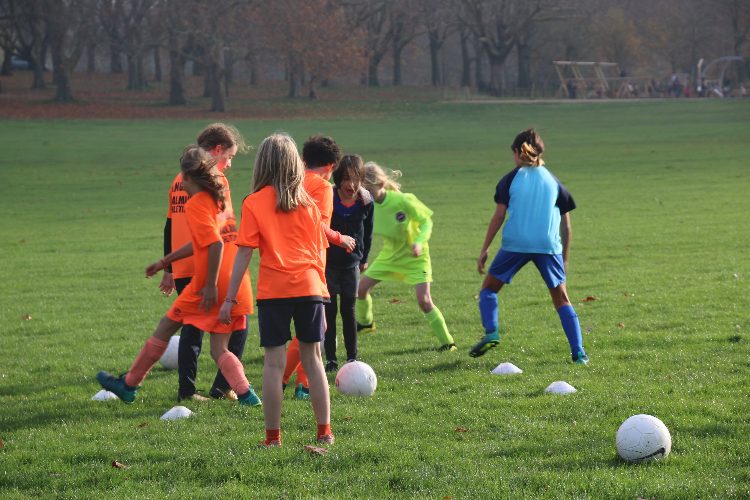 Fun, engaging sessions with every player involved all of the time help us fight the cold in London
