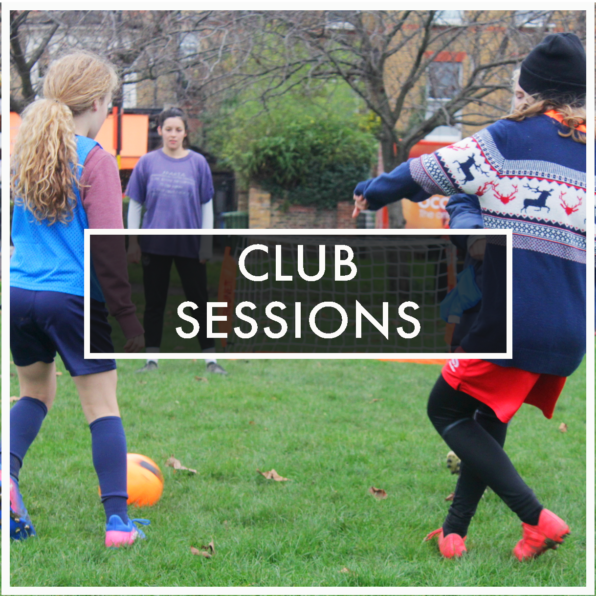 BECOME A FOOTBALLER AND A LEADER.   Training sessions  every week  across various  locations in South London  Open to  all   abilities  and experience levels  Ages  6 to 18  are welcome