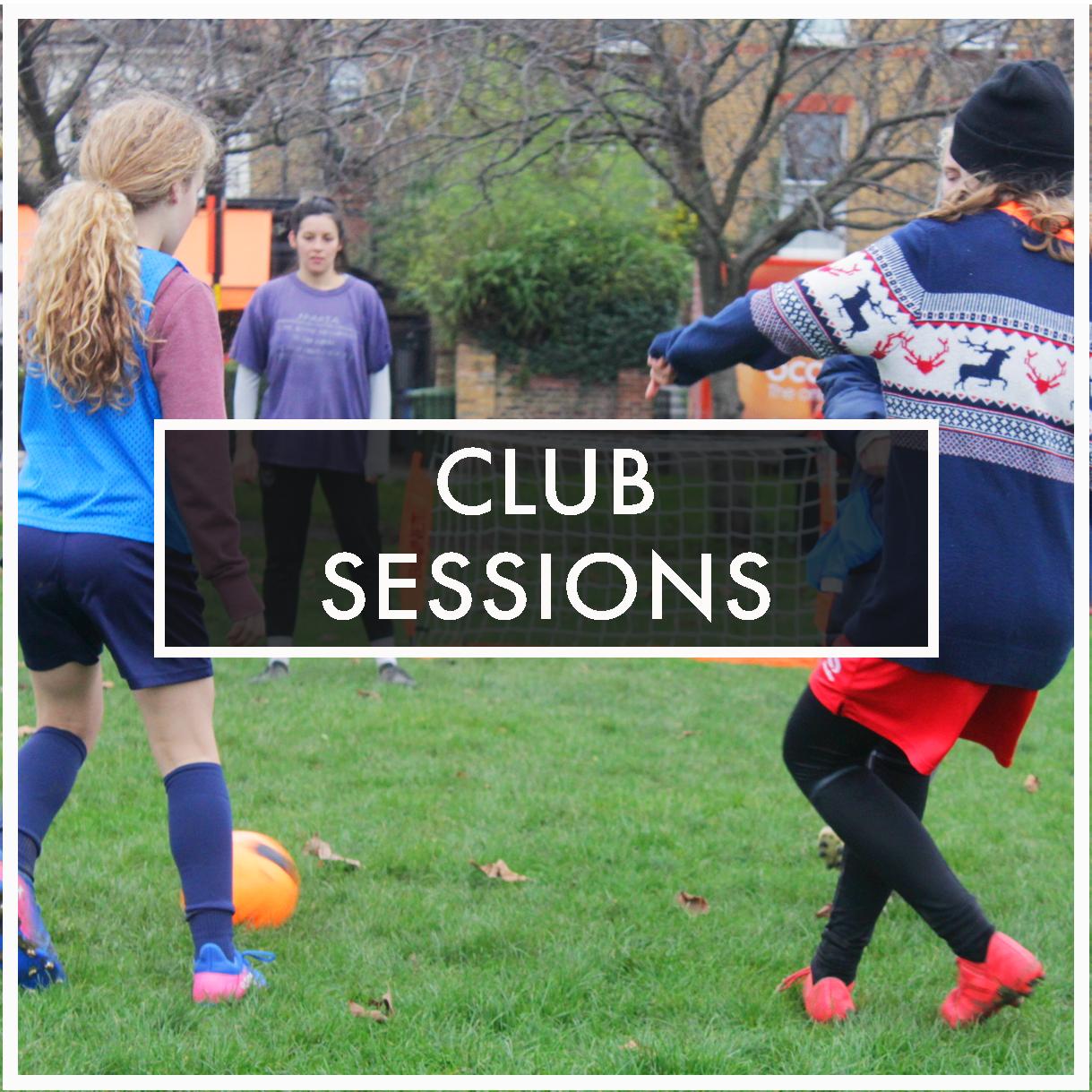 Sesiones de entrenamiento  cada semana  en varias locaciones del sur de London.  Accesibles a  todos los niveles de habilidades  y experiencia.  Son bienvenidas todas las chicas de entre  5 y 18 años.
