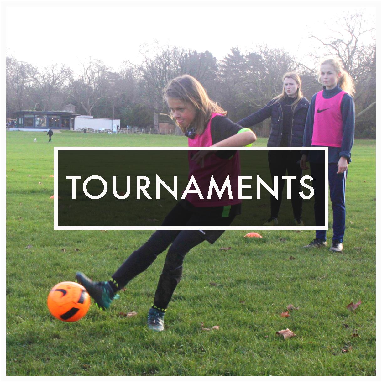 Participa en los torneos de Girls United, apoyando nuestra causa y ayudando a anotar goles  sin fronteras.   Nuestro próximo torneo celebra la  Copa Mundial Femenil  este verano.