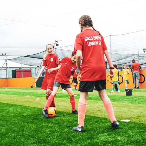 PLAY - Become a footballer and a confident leader.