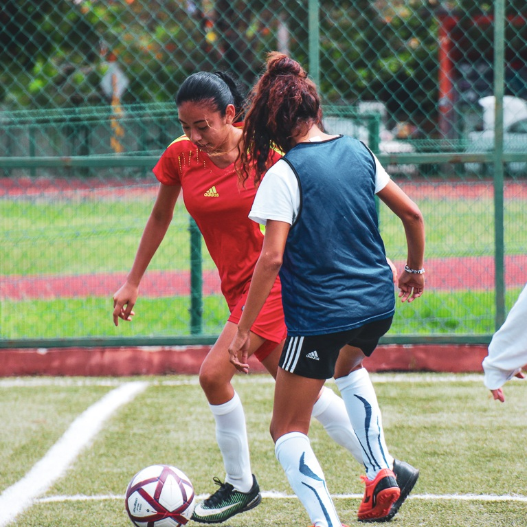 YOUTH Futbolistas - 12 - 18 years. Mondays, Wednesdays, Fridays. 6:30pm - 8:00pm