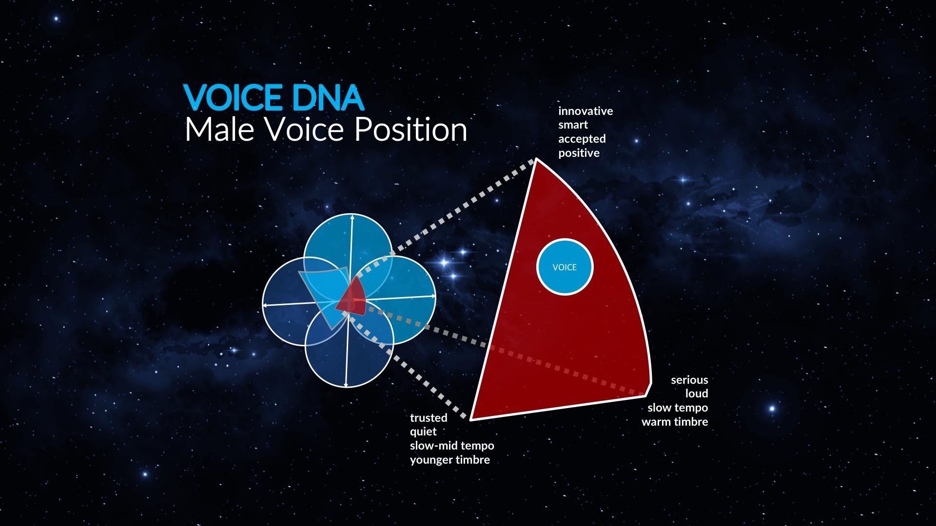 Die richtige Stimme finden - Geeignete Stimmen werden anhand der erarbeiteten Parameter in unserer Datenbank identifiziert und nachhaltig in die Kommunikation integriert.