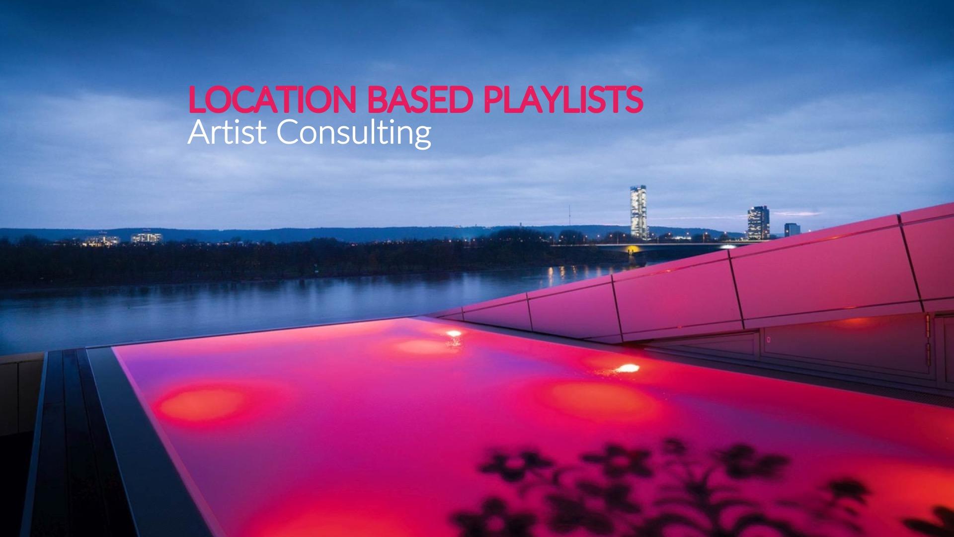 Location Sound-Selection - Klanglich differenzierte Wirkung. Entstanden in Zusammenarbeit mit Klangkünstlern und DJs aus der Region. Aktivierend in der Bar, entspannend im Spa, konzentrierend in den Seminarräumen. An unterschiedlichen Plätzen werden gewünschte Atmosphären erzeugt, die das Erlebnis sensorisch verstärken.