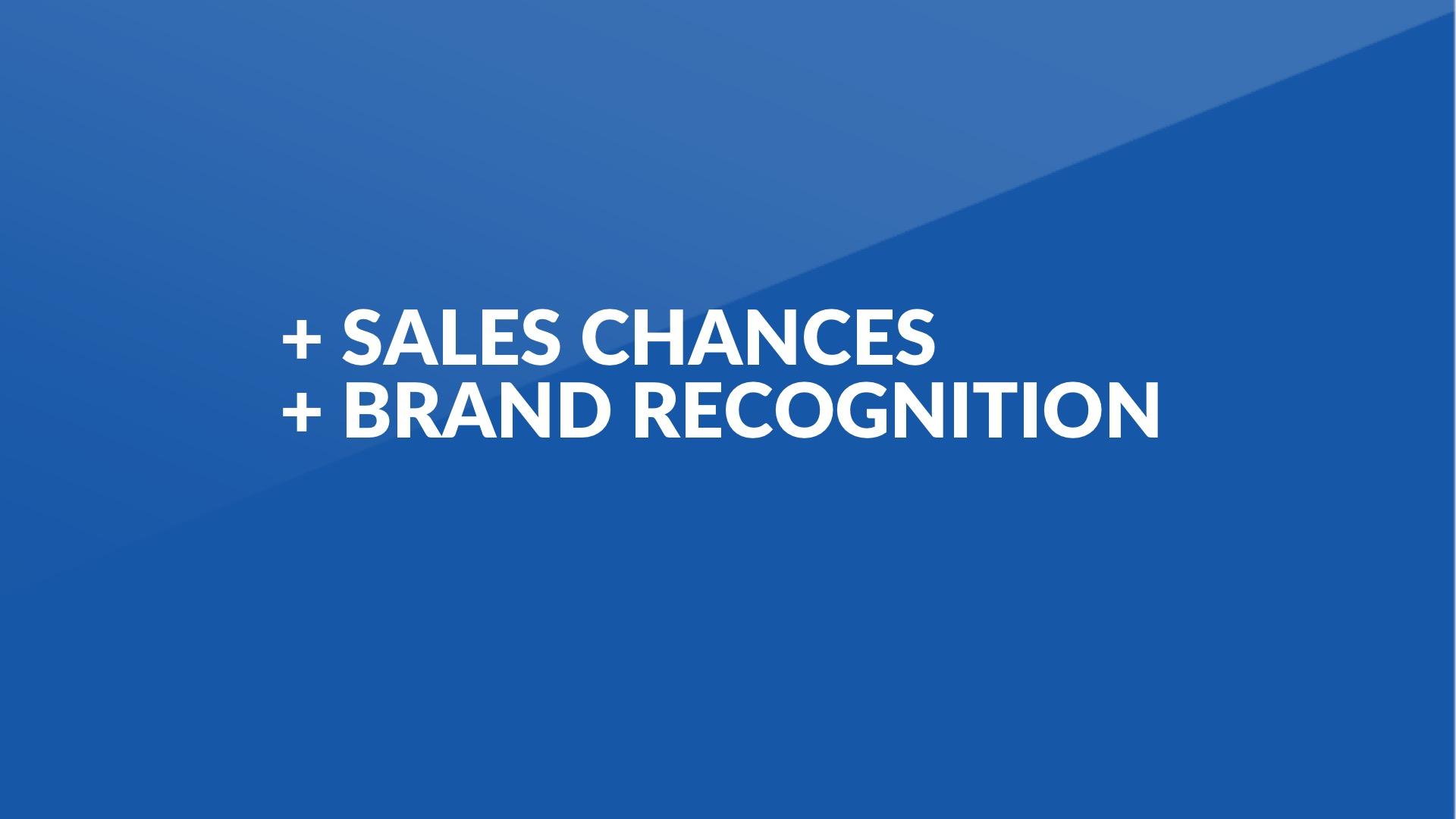 + Chancen Sales+ Wahrnehmung -