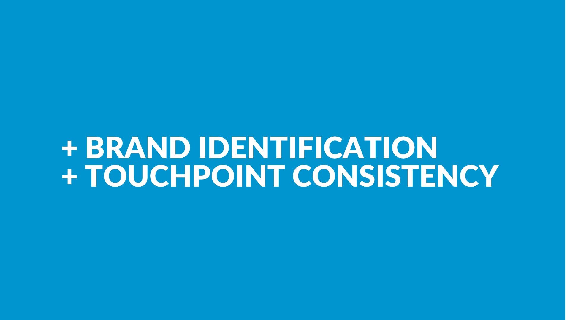 + Identifikation+ Erkennbarkeit - basierend auf den im Workshop festgelegten Zielen.