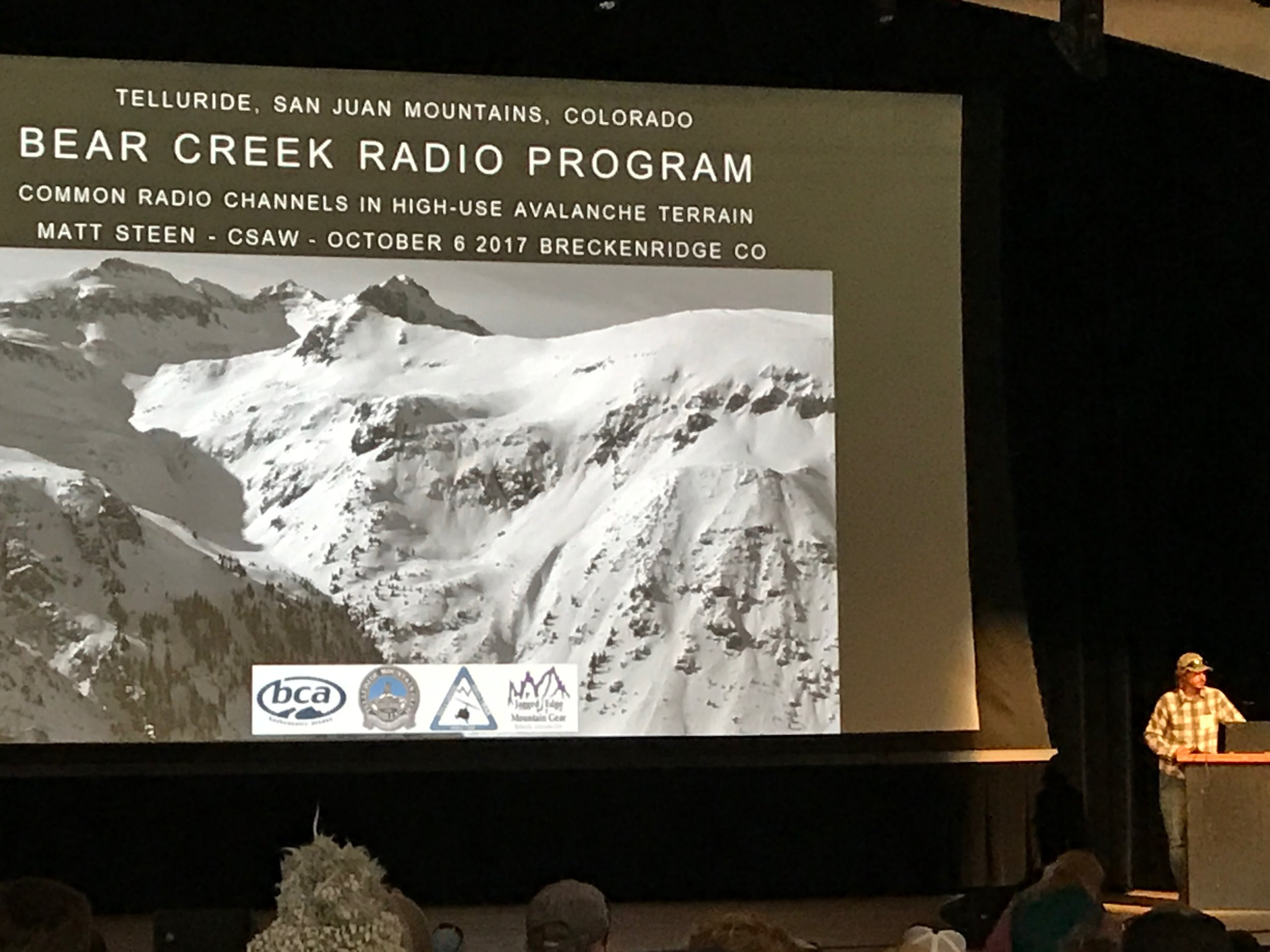 Matt covering how an innovative program to improve backcountry communication has worked for the Telluride area.