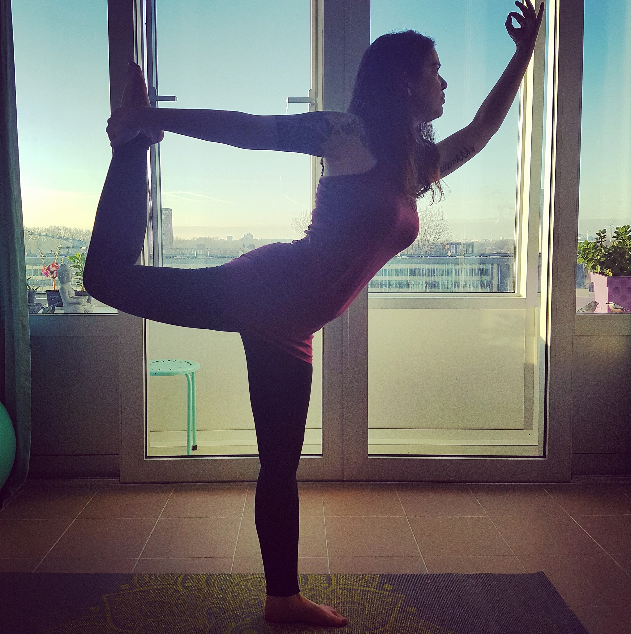 Lord of the dance yoga posture private yoga teacher