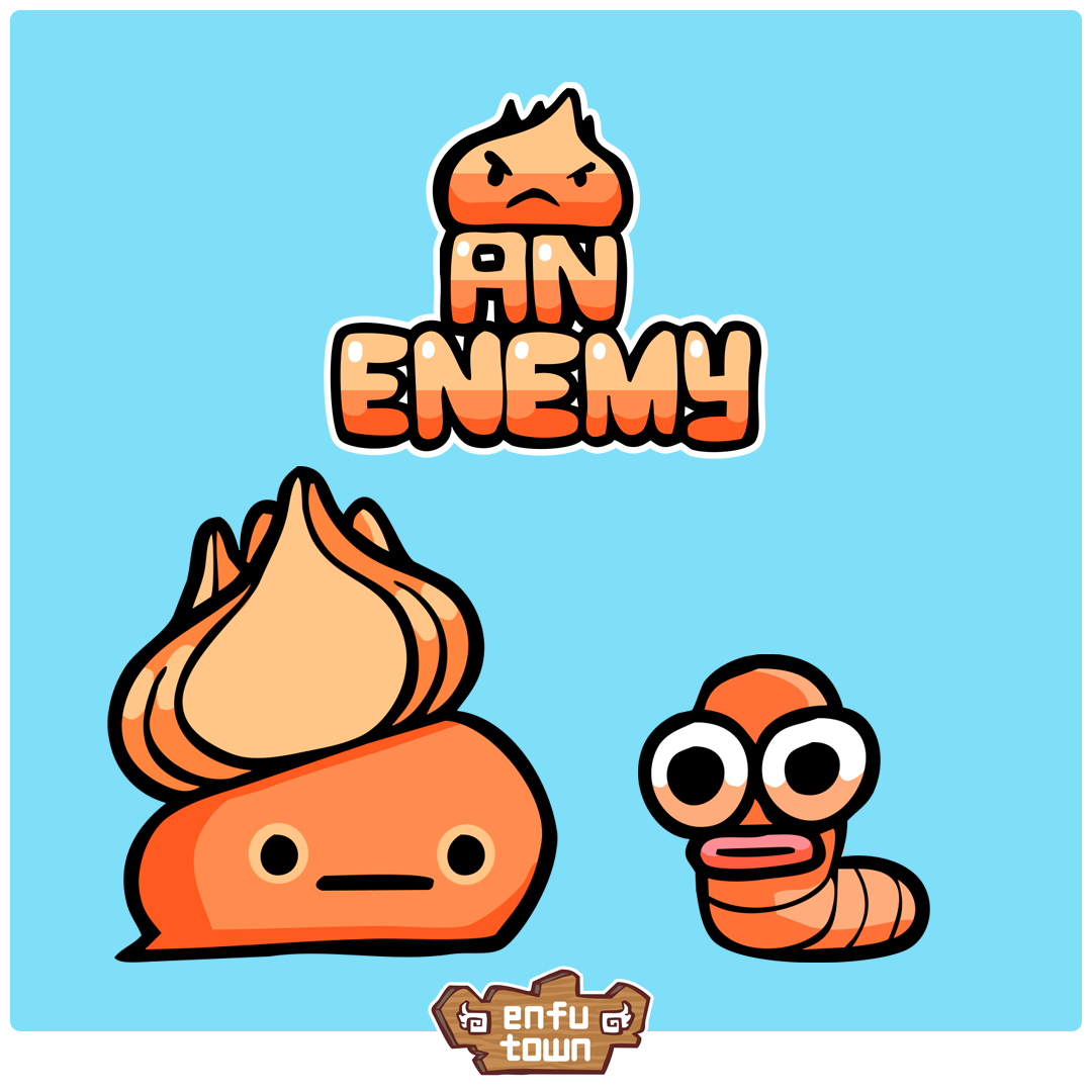 An Enemy  Everything is a threat.