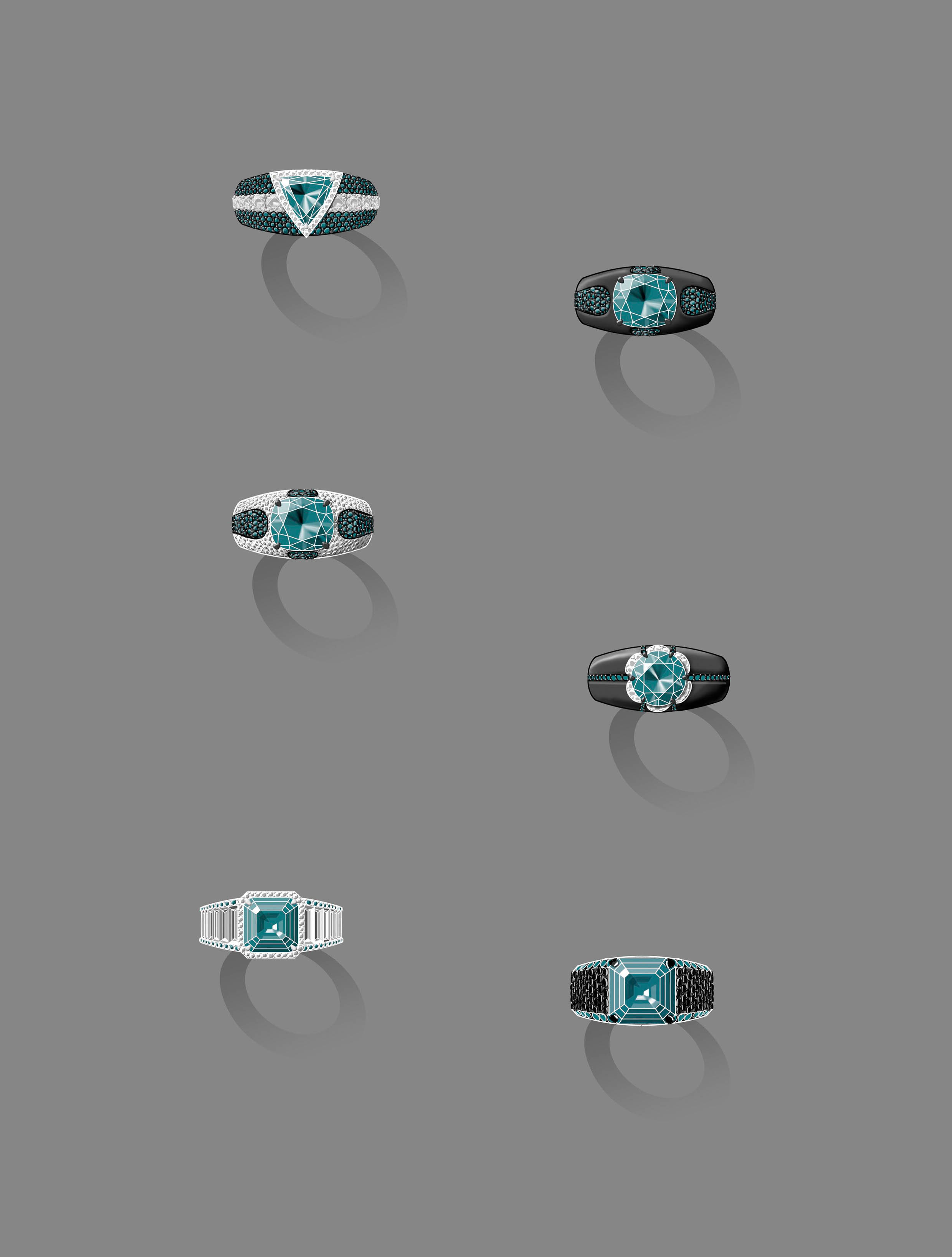 A Selection of Men's Ring Designs