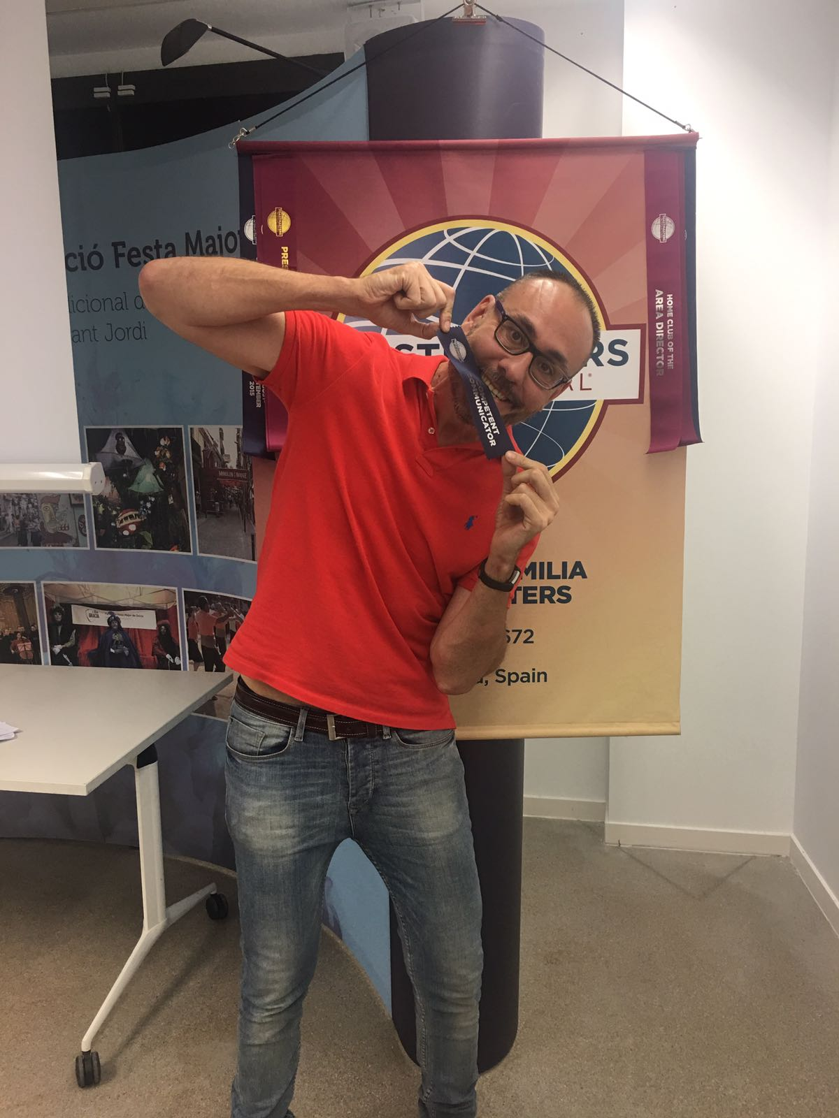 Competent Communicator - Celebrating Rafa Nadal style :)