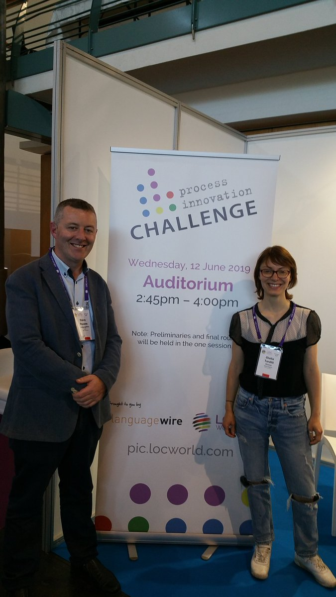 Dave with the Innovator winner Giulia! congrats!!!