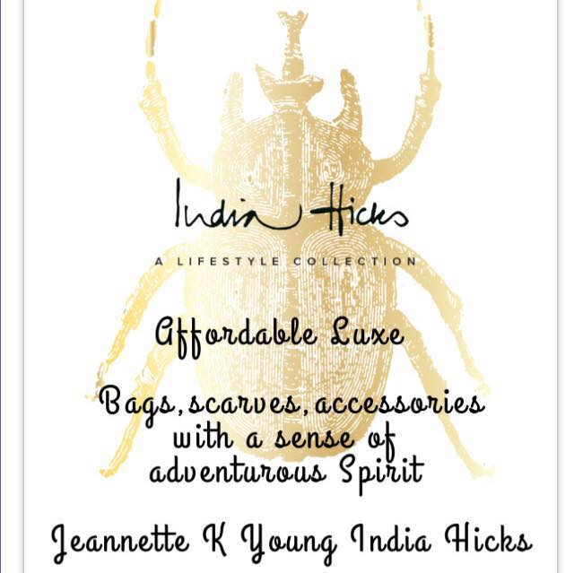 India Hicks with Jeannette Young