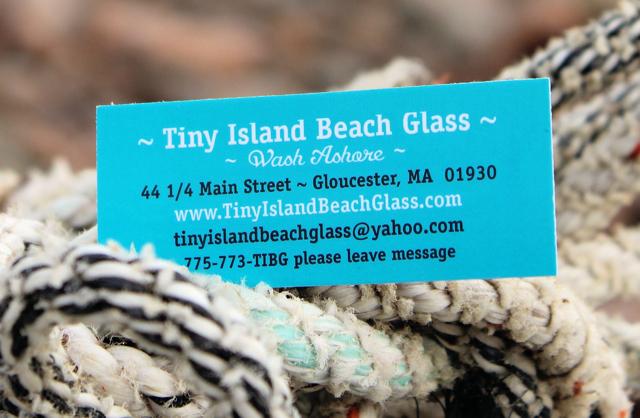 Tiny Island Beach Glass