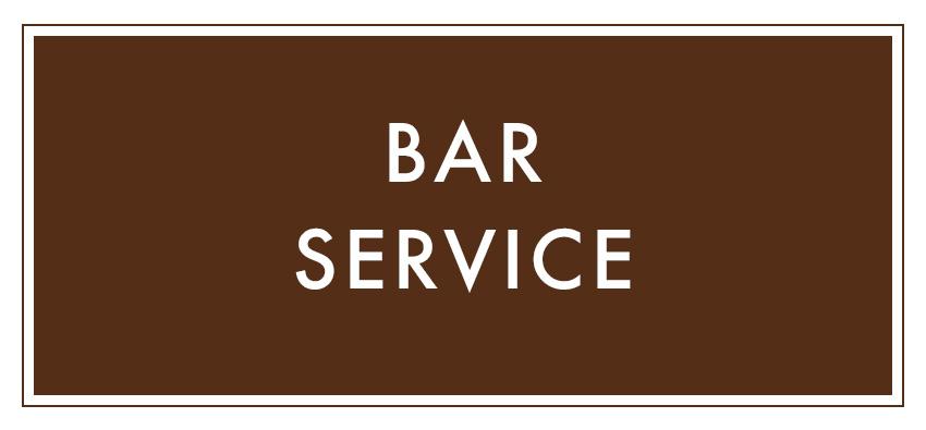 The Loft On Pine | Bar Service
