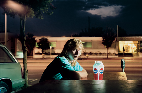 Fig 9. Philip-Lorca diCorcia, Brent Booth 21 Years Old, Des Moines, Iowa $30, 1990-92. C-Type.