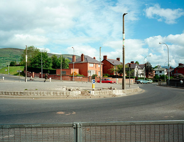 Fig 10. Paul Graham, Roundabout, Andersontown, Belfast, 1984. C-Type Print