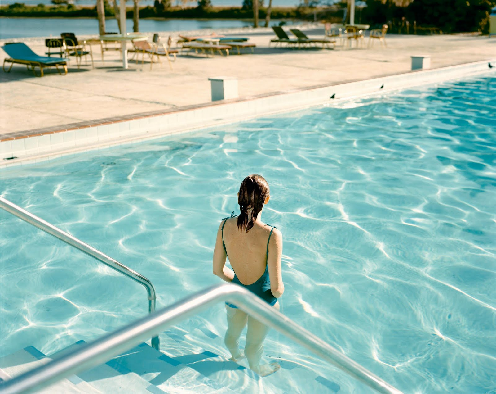 Fig 17. Stephen Shore, Ginger Shore, Tampa, Florida 1977. C-Type Print