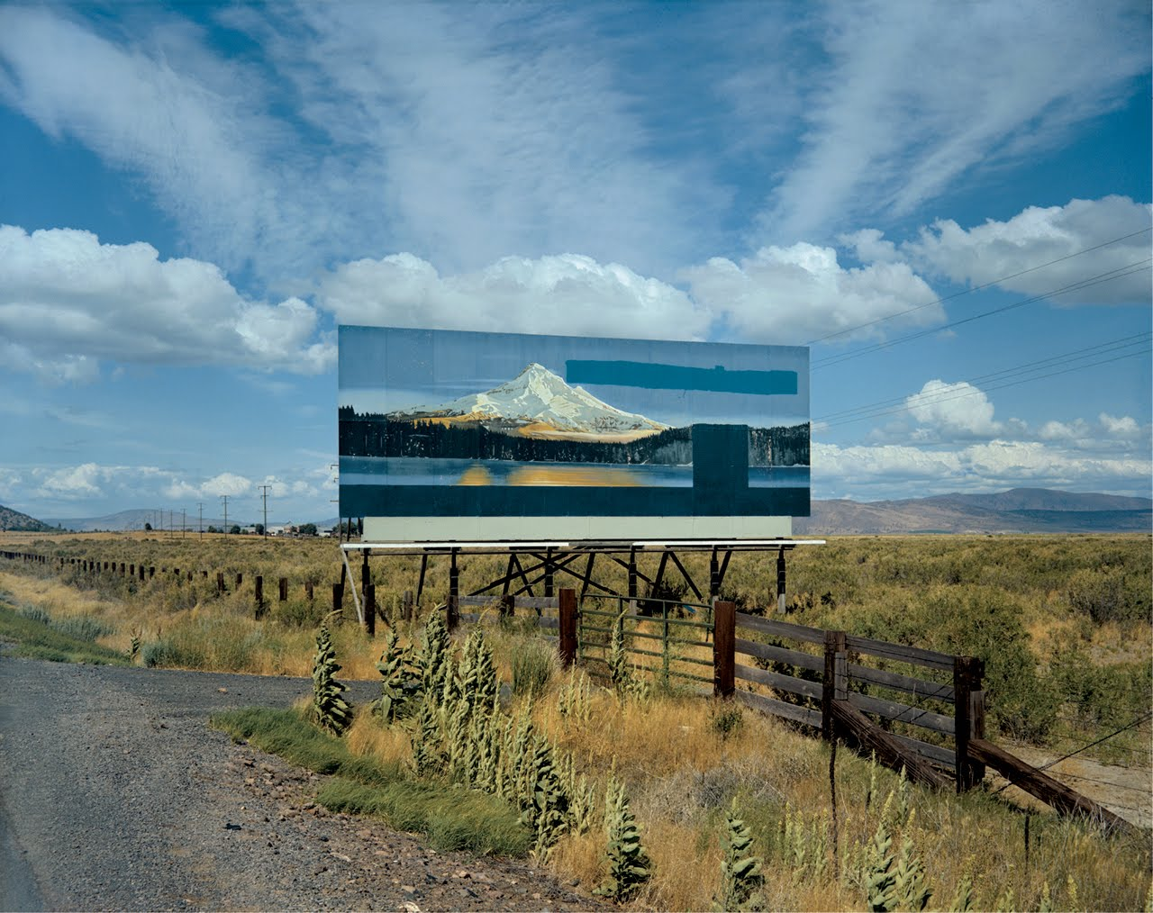 Fig 18. Stephen Shore, U.S. 97, South of Klamath Falls, Oregon, 1973. C-Type Print