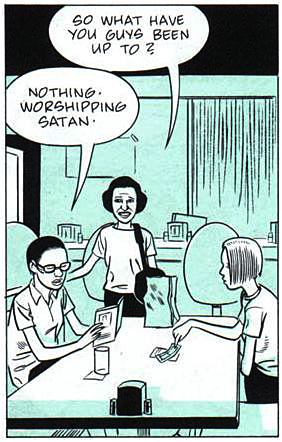 Fig 28. Daniel Clowes, Ghost World, 1997. Comic Strip.