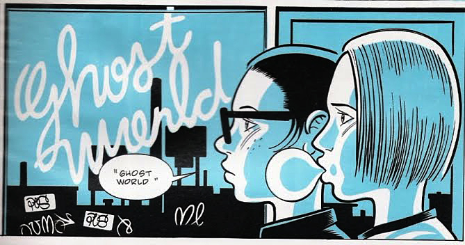 Fig 29. Daniel Clowes, Ghost World, 1997. Comic Strip.