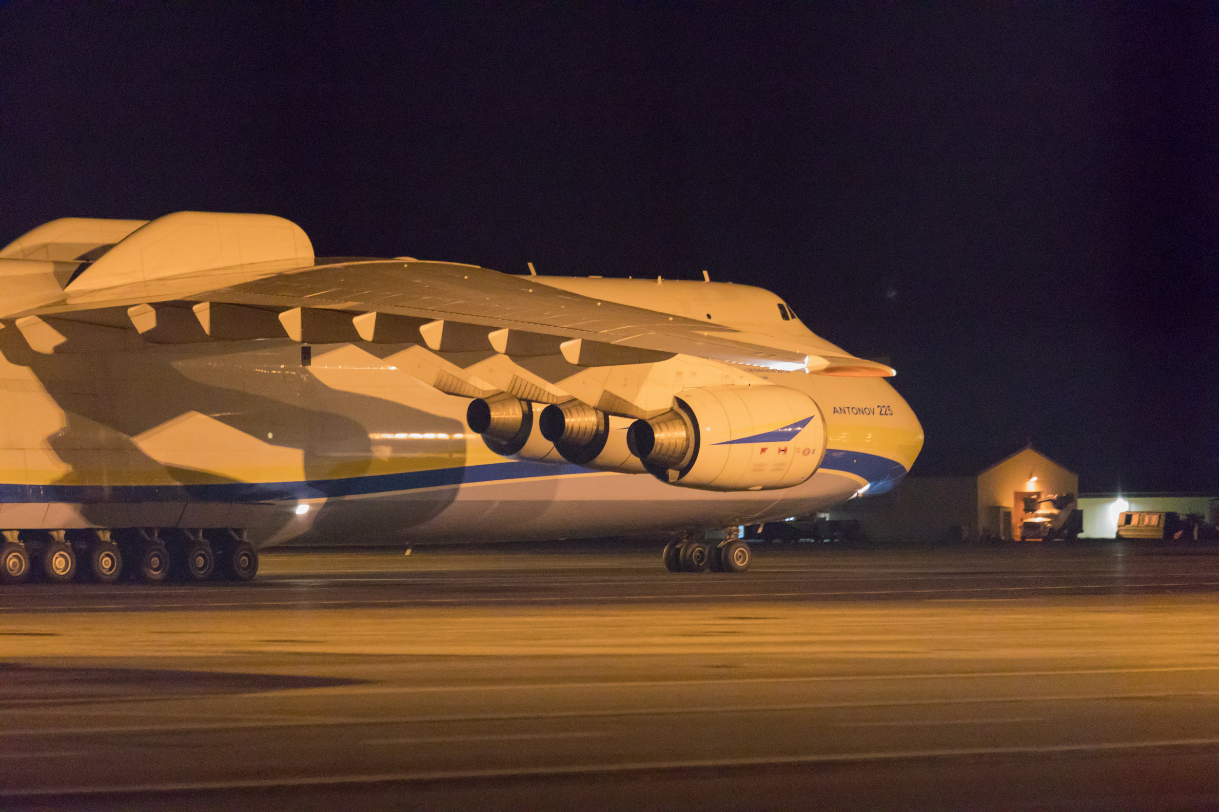 Mriya on the way for refueling