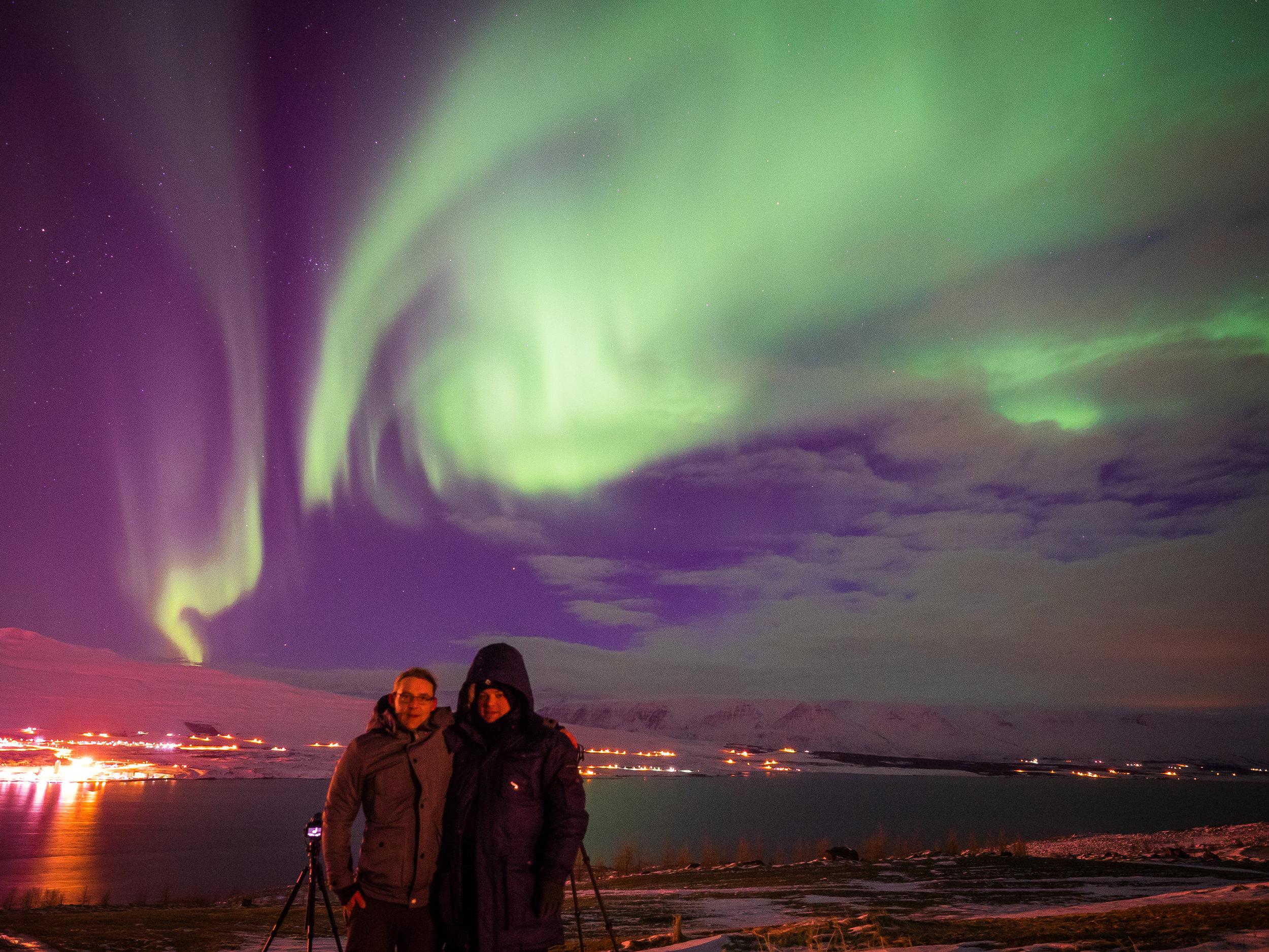 Northern Lights in Akureyri