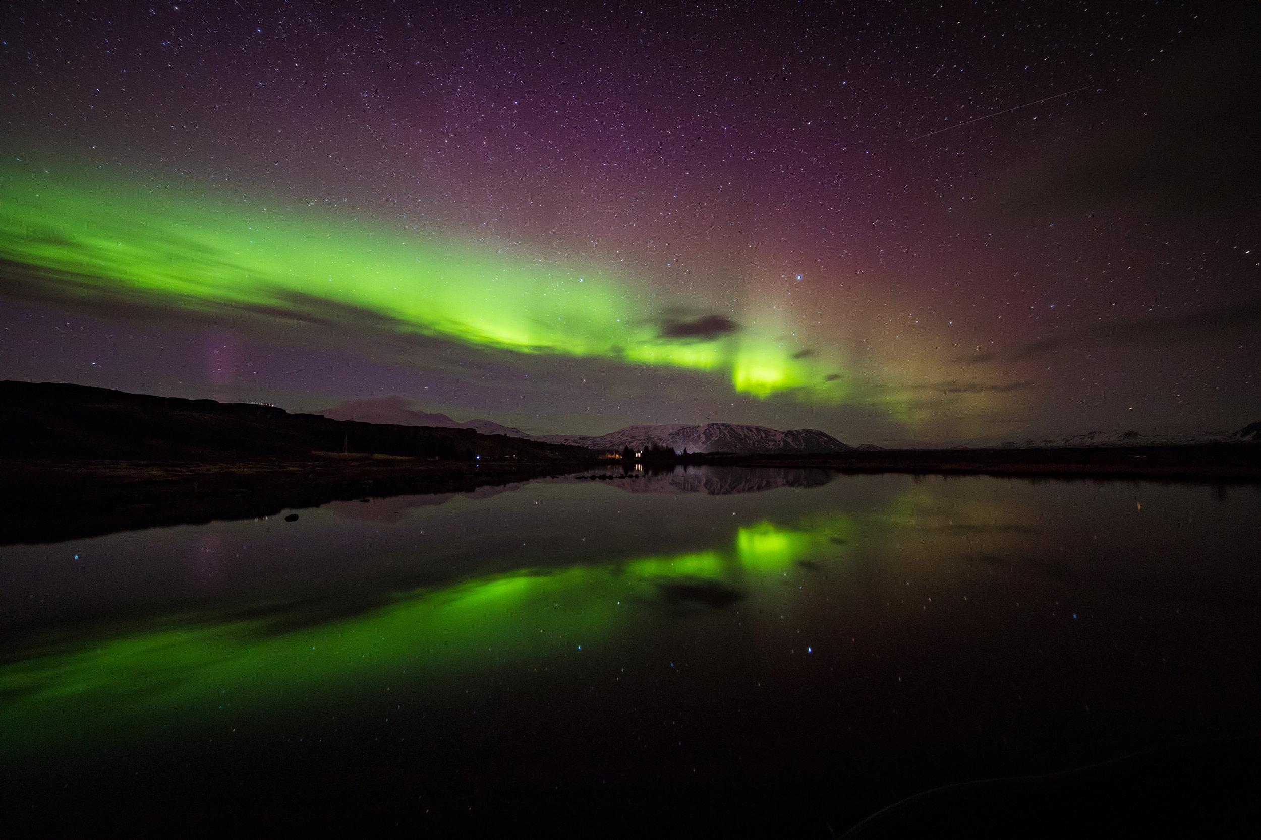 Black mirror - Þingvellir National Park