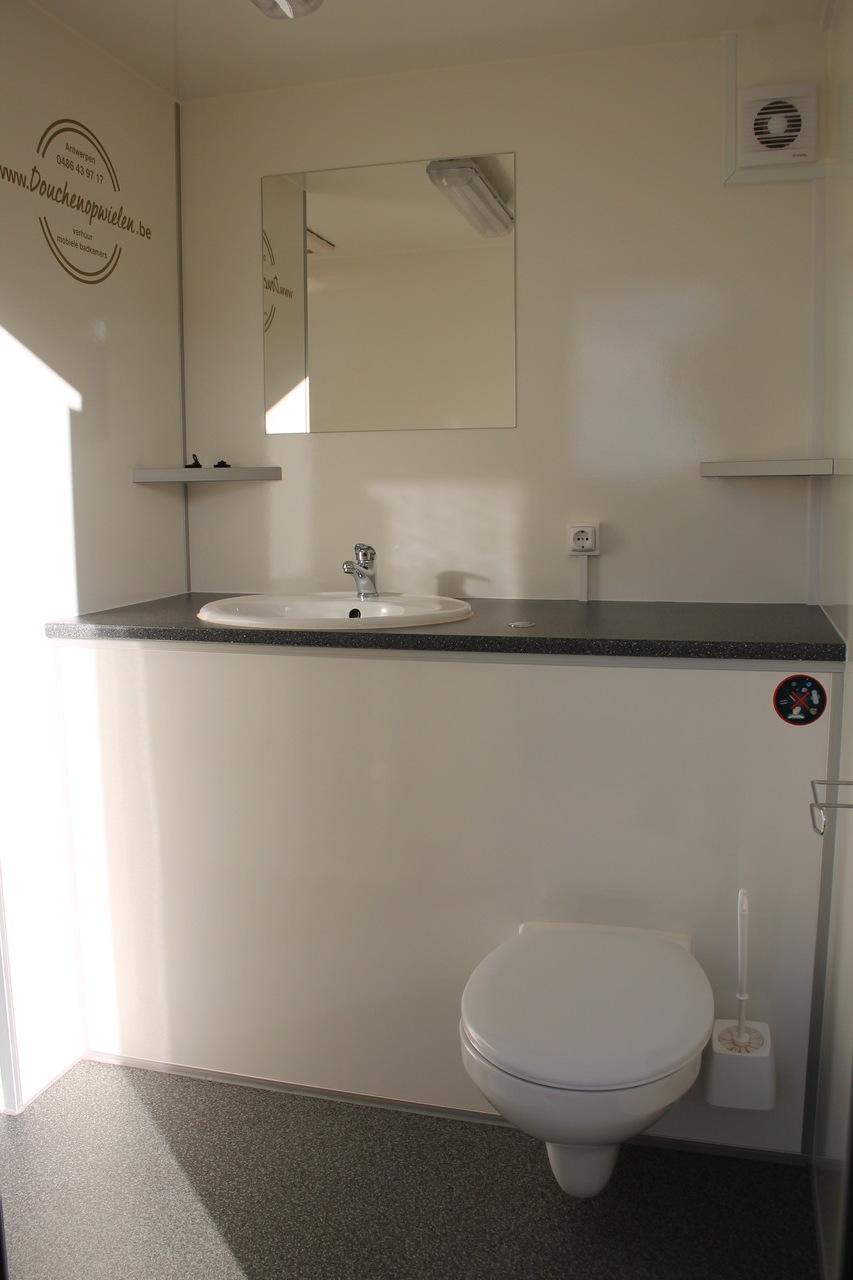 Goede mobiele badkamer verhuur Antwerpen XJ-31