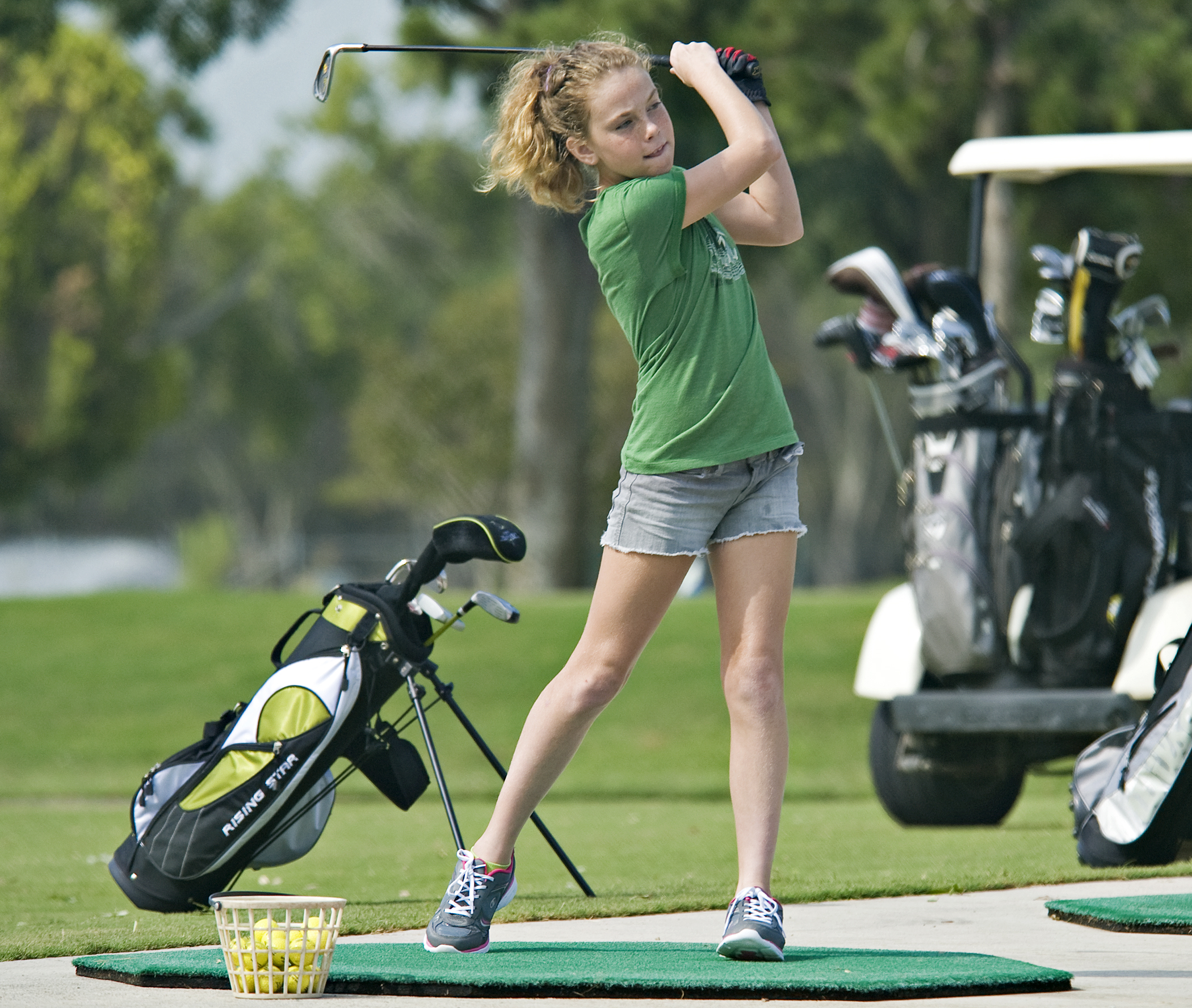 Golf Lessons Offered Fridays! - We are excited to offer this new program to Our Sporting Lives! Golf instruction will include putting and games, along with some general knowledge about the course and play. Open to 2nd through 6th graders, practice will take place in Duniway Park, the Lilac Gardens, TIS, and then two rounds of golf at area courses.Photo Credit: Benjamin Faske