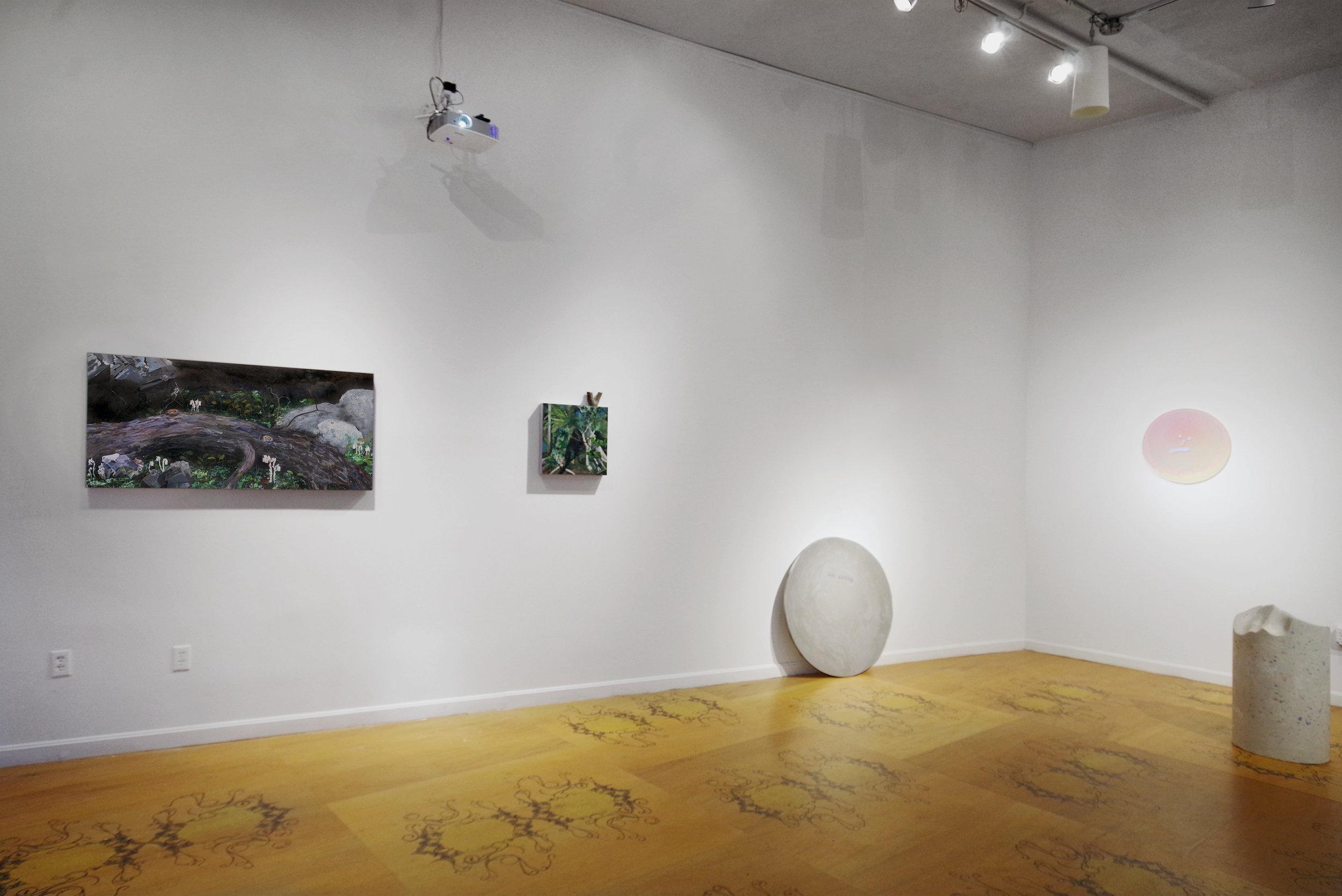 Relative G  round    Devra Freelander, Aimee Odum & Leah Piepgras curated by Corey Oberlander & Linsdey Stapleton   September 2-20, 2016   Machines With Magnets, Pawtucket, RI