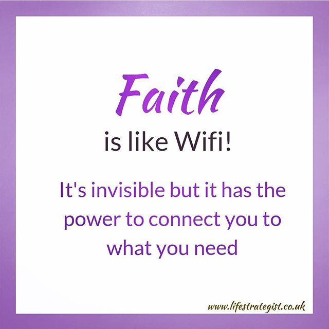 Faith is invisible but it has the power to connect you to what you need! You just have to believe..Faith then inspires your belief into action 💜 #innerwisdom #positivevibes #lifecoach #coach #womenempoweringwomen #womensupportwomen #purposedriven #purpose #purposedrivenlife #spiritualawakening #coachbusiness