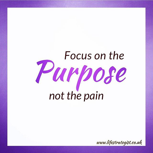Focus on the purpose not the pain! So for the last 24 hours, I have been trying to post up a video on here (Instagram) without success. I am not sure why this is not working as I have tried multiple ways i.e turning my phone off and on, installing and reinstalling the app etc. It has been very frustrating. Please feel free to DM me if you think you can help. It is much appreciated!  Now my point is that sometimes we get frustrated, and may even feel hurt, and be in a level of pain. It is crucial at these times that we reconnect with our purpose, and focus on what is really important as opposed to why something has not gone our way. When we do this, you will find other ways of resolving the issue, and soothing the pain. BTW- please feel free to subscribe to my YouTube channel where my videos are posted. Enjoy your day, and choose to focus and prioritize your purpose today. 💜 #innerwisdom #purposedriven #purposedrivenlife #coach #lifecoach #positivevibes #mompreneur #womensupportwomen #spirituality #spiritualawakening