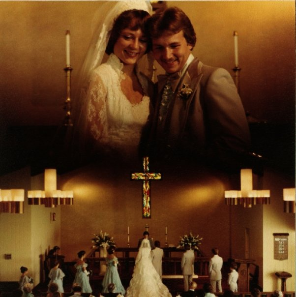 A few snaps from my parent's wedding on May 10, 1980.