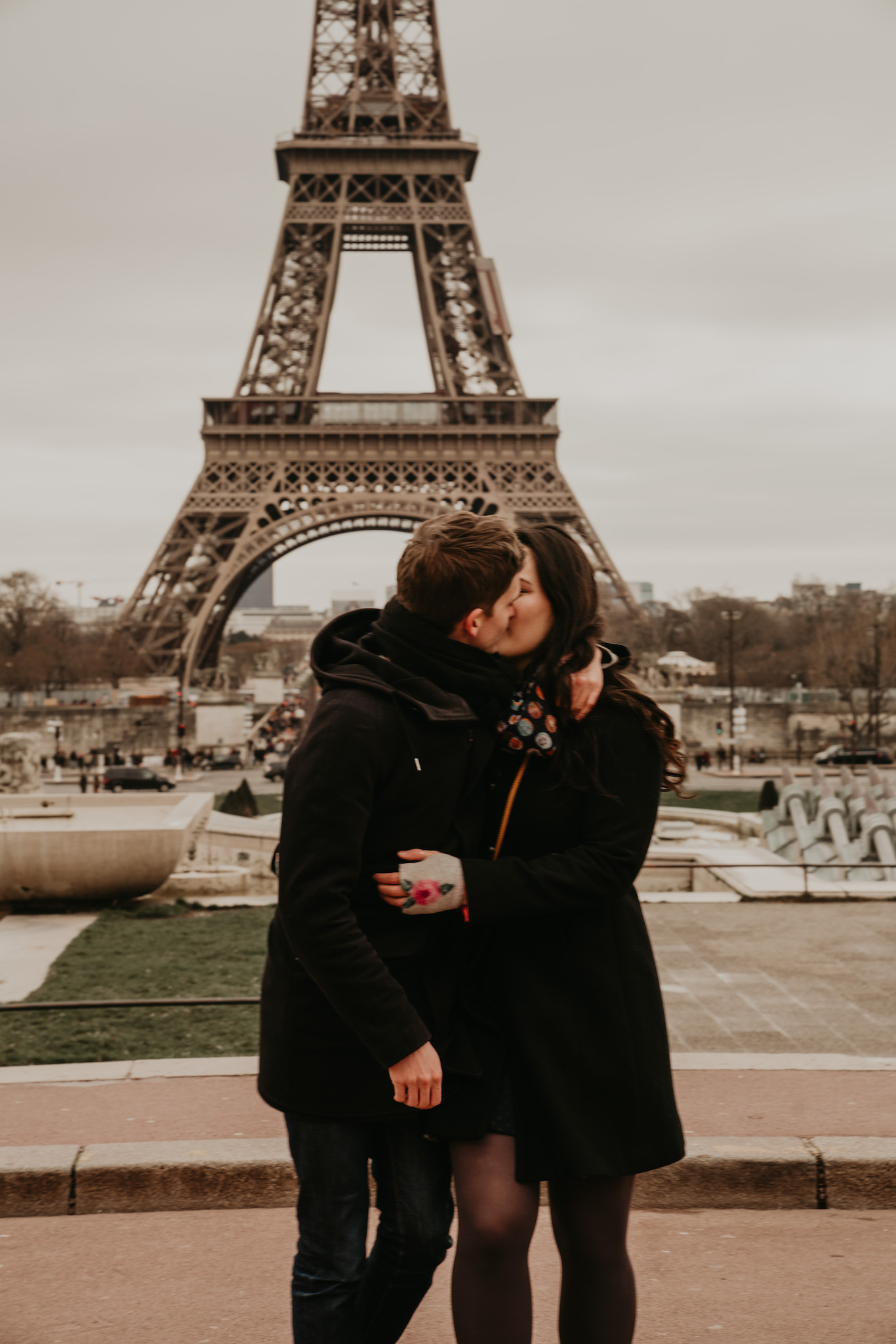 Shana + Dmitri | A Morning in Paris | Paris Engagement