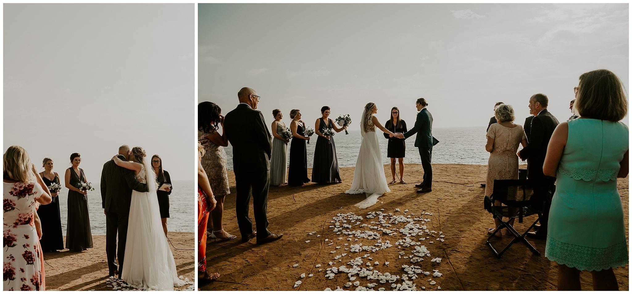 intimate wedding in kauai