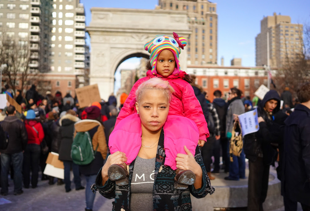 Cindy Trinh, Millions March for #BLM, 2015