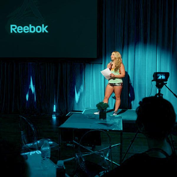 Mandy Gill Reebok Talk