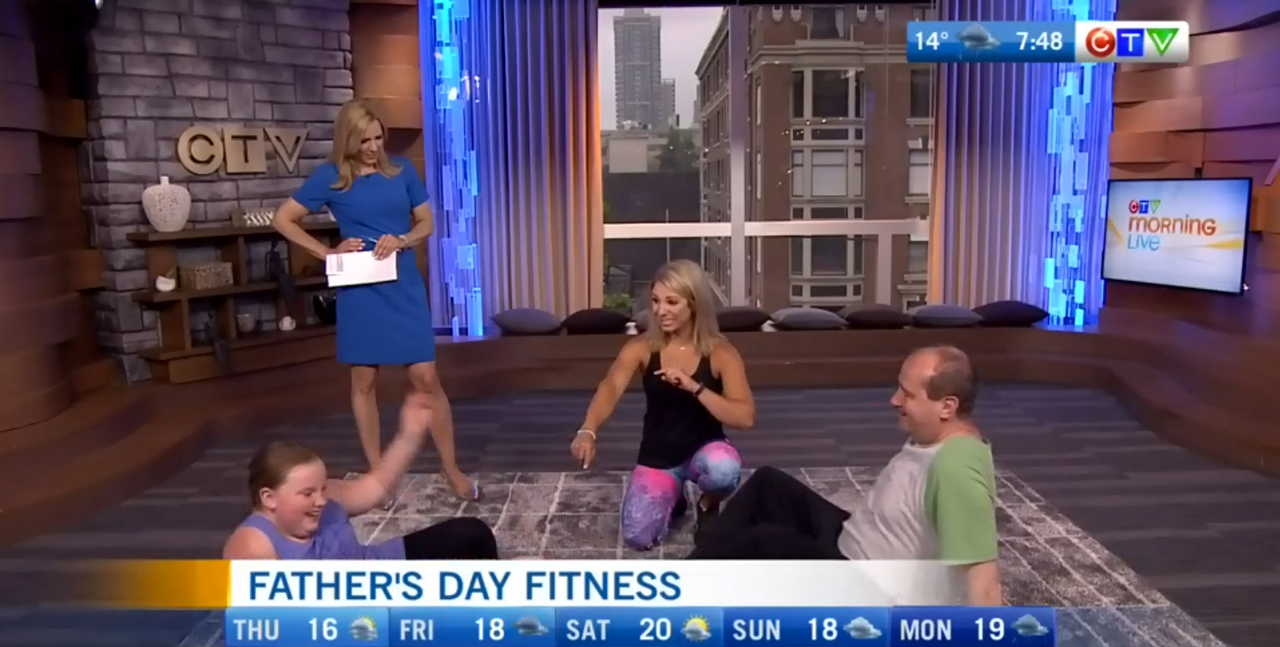 Father's Day Fitness - Mandy Gill - CTV Morning Live