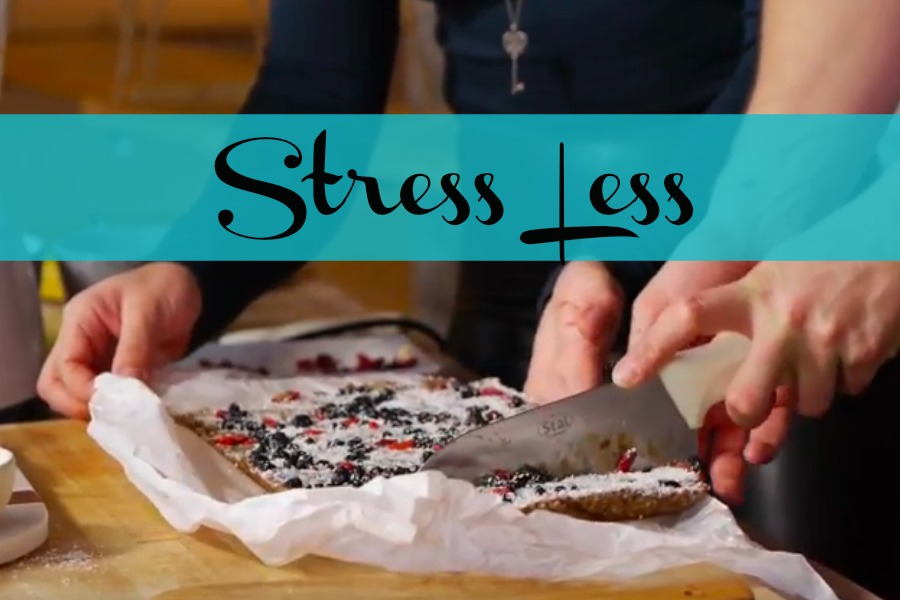 Create a snack that will help reduce your stress! Scroll for video.